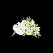 White flowers sillo