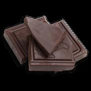 Chocolate pieces sillo