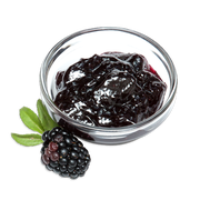 Blackberry preserves sillo