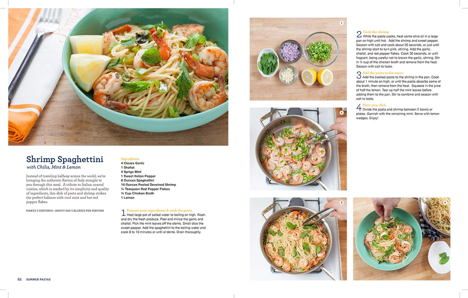 Blue apron cookbook