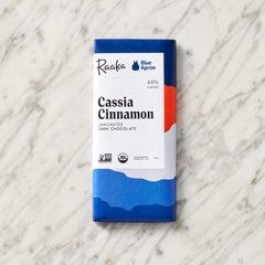Blue Apron x Raaka Cassia Cinnamon Chocolate