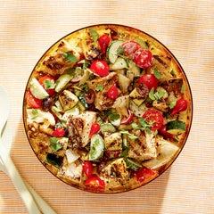 Shrimp & Steak Mixed Grill: Summer Cookout