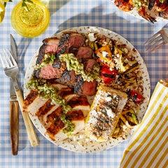 Steak & Chicken Mixed Grill: Summer Cookout