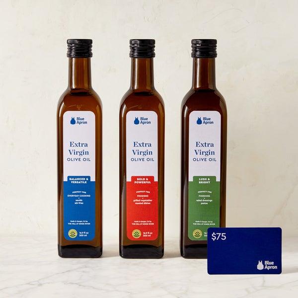 Signature Olive Oil Set & Gift Card
