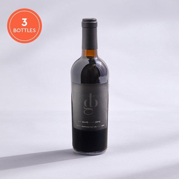 Grape To Bottle Syrah: 3-pack
