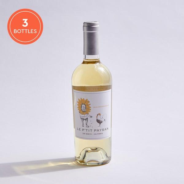 Le P'tit Paysan Chardonnay: 3-pack
