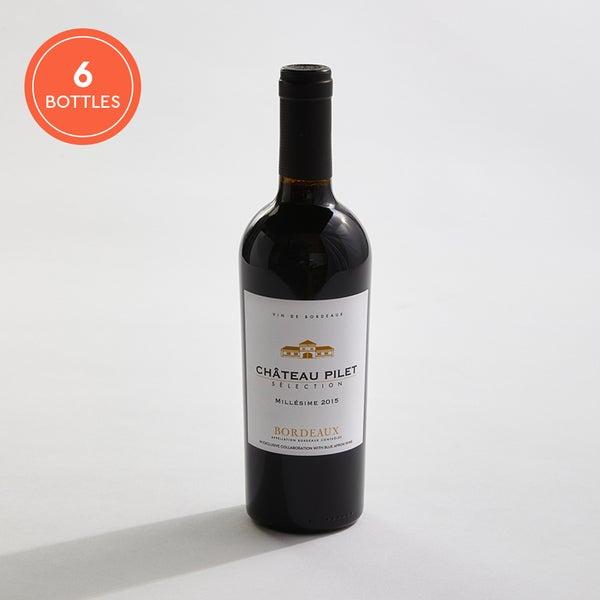 2015 Château Pilet Bordeaux: Half-case