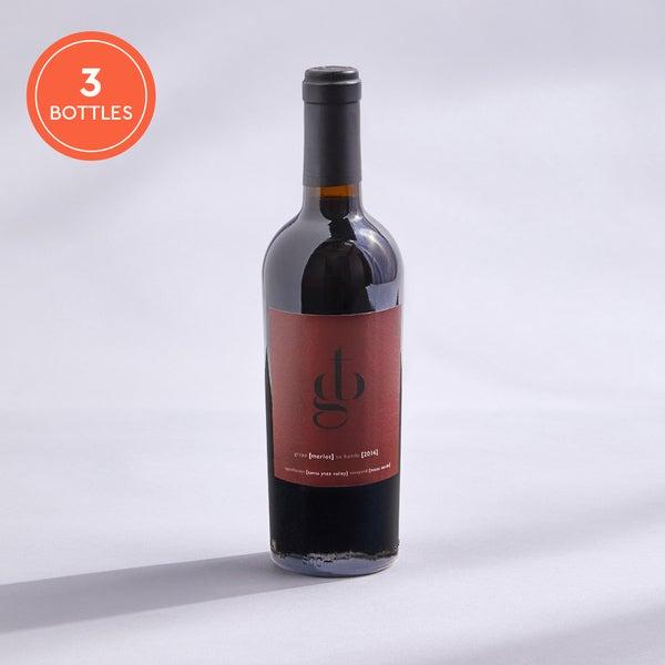 Grape To Bottle Merlot: 3-pack