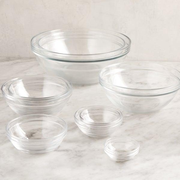 Glass Mixing Bowl Set, 9-Piece
