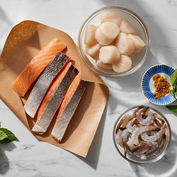 Seafood Trio - July 4th Butcher Bundle