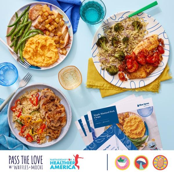 Pass the Love: Potato, Mushroom & Herbs Box - Delivers 9/3
