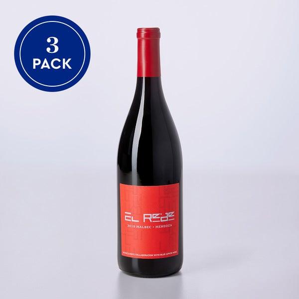 El Rede Malbec - 3-pack, 750ml size