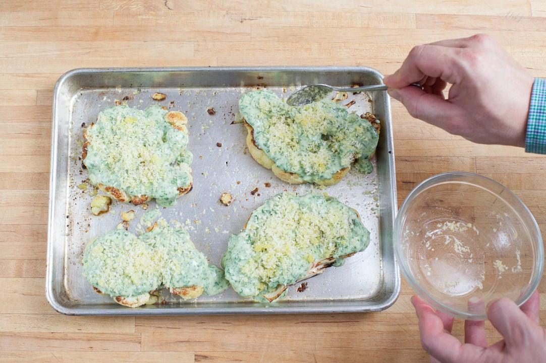 Bake the gratin: