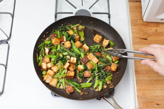 Finish the tofu:
