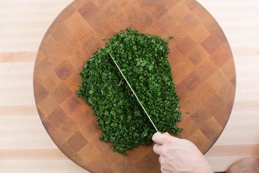 Start the kale: