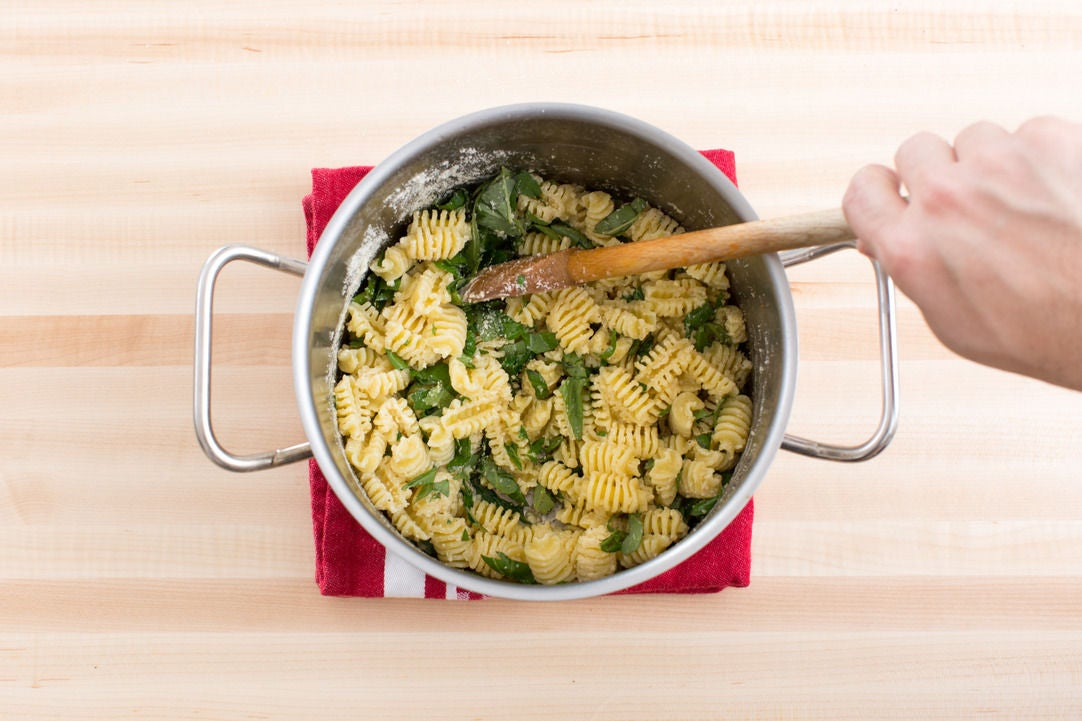 Make the pasta & serve your dish: