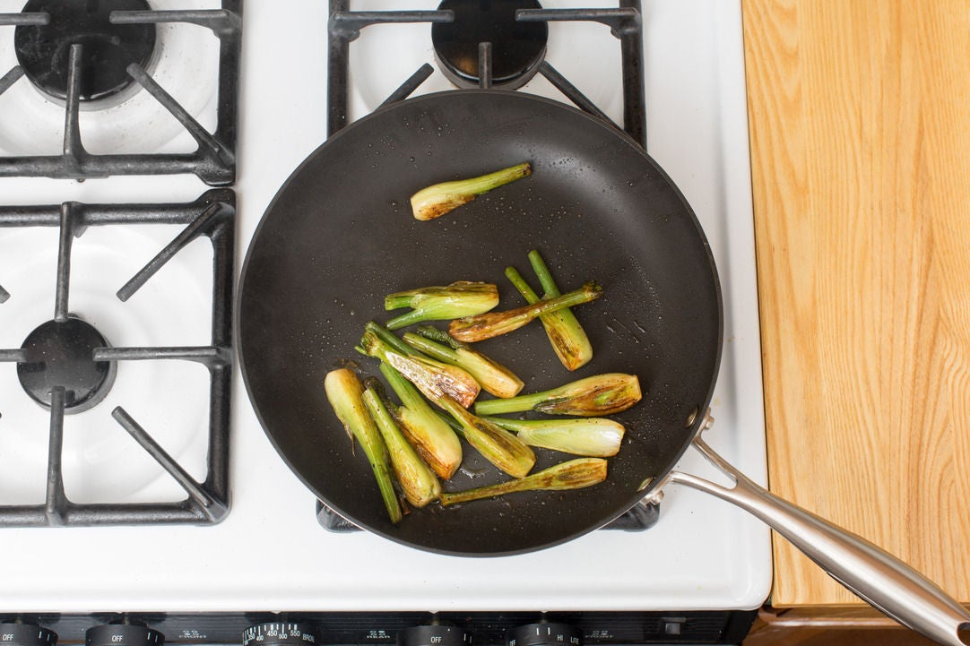 Cook the fennel: