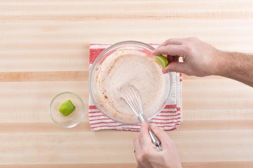 Make the marinade: