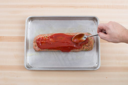Finish the meatloaf: