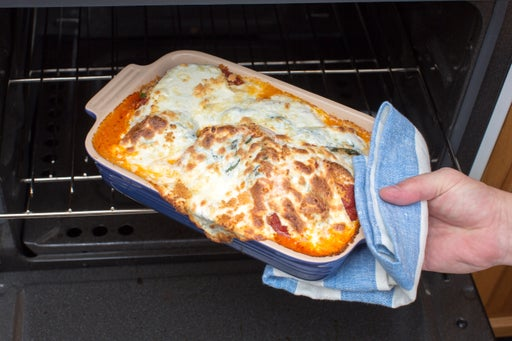 Bake the dish: