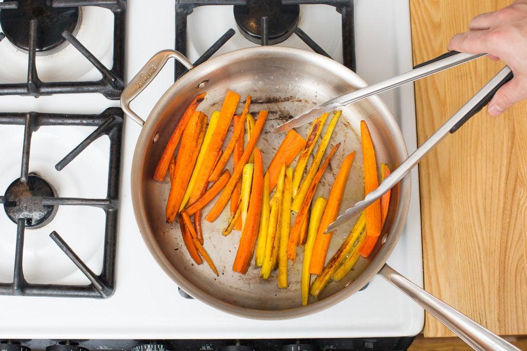 Start the carrots: