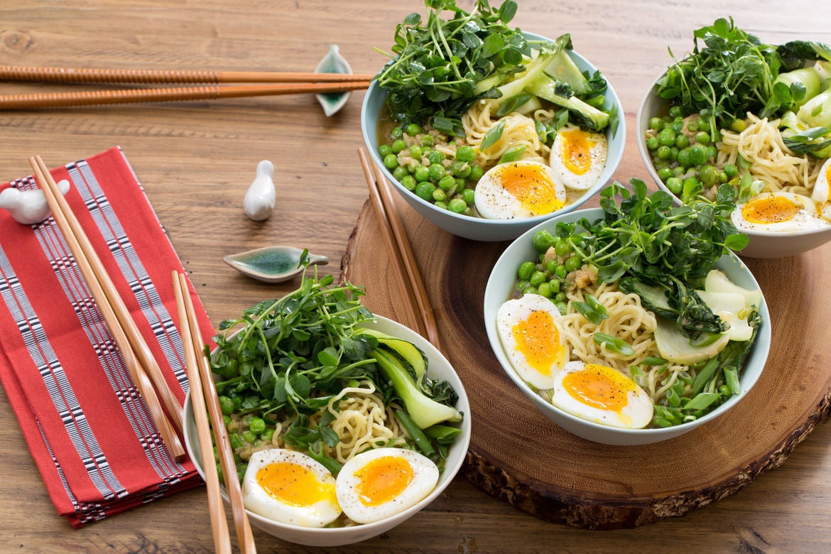 Blue apron ramen