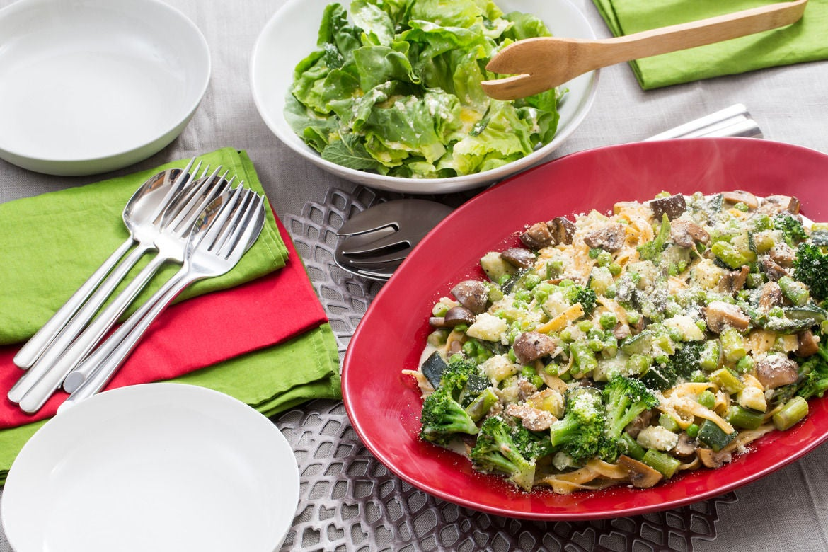 spring vegetable pasta spring vegetable tagliatelle spring vegetable ...