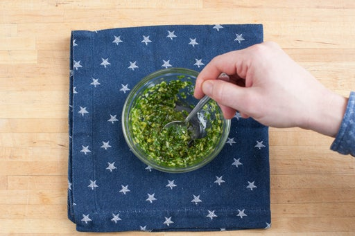 Make the gremolata: