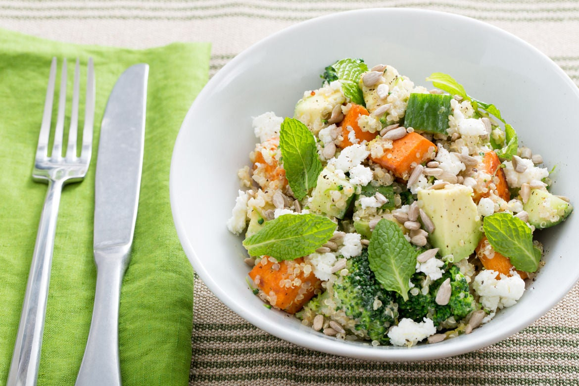 Blue apron quinoa
