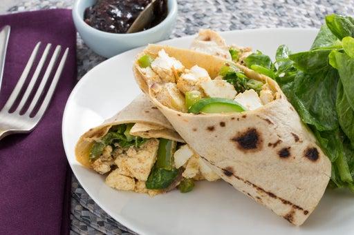 Paneer & Vegetable Kati Rolls with Tamarind-Date Chutney