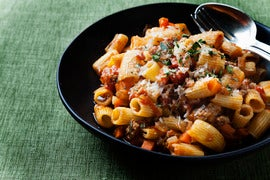 Fresh Rigatoni with Spicy Pork Ragu