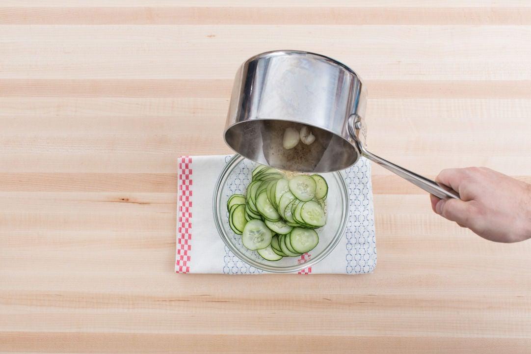 Pickle the cucumber: