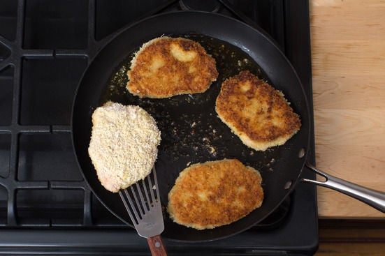 Cook the pork chops & serve your dish: