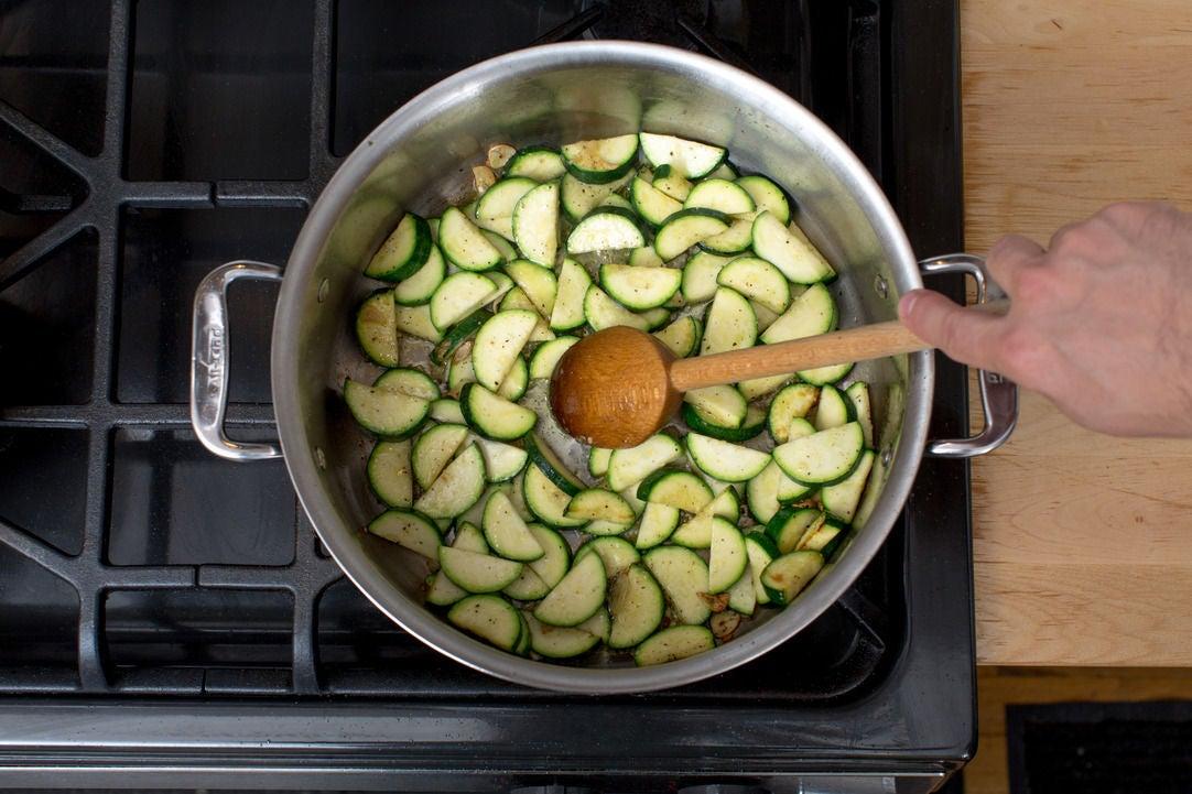 Cook the squash: