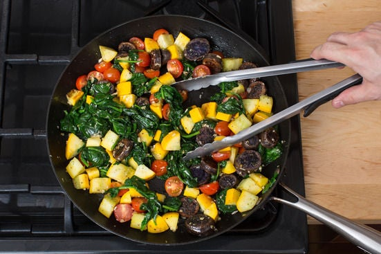 Make the sauté:
