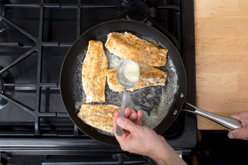 Cook the catfish: