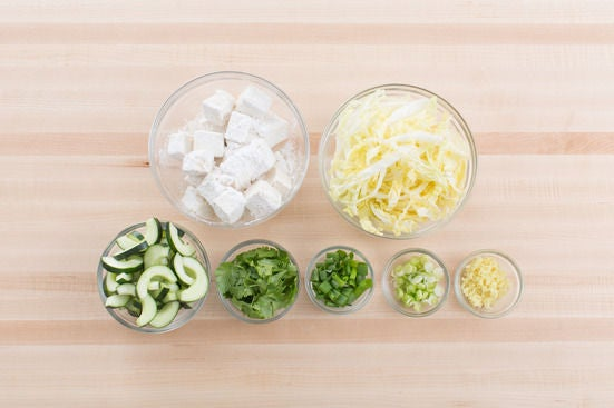 Prepare the ingredients: