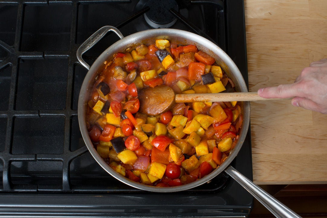 Make the ratatouille: