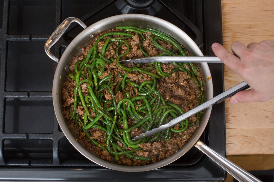 Finish the bulgogi: