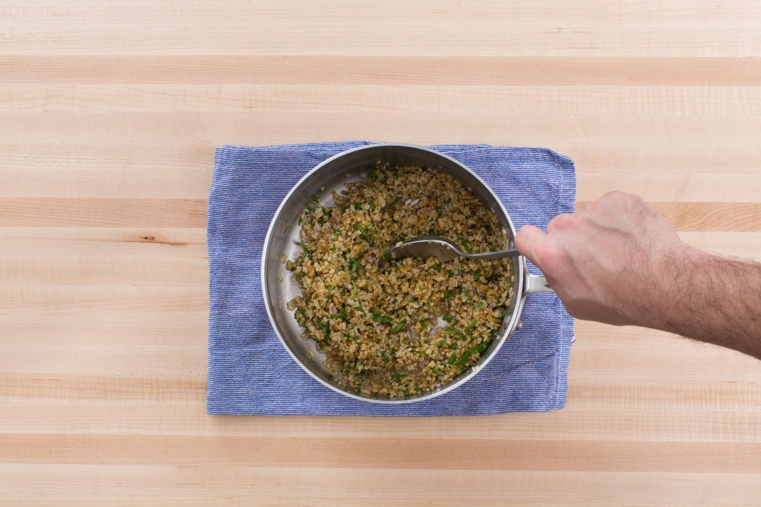 Finish the freekeh: