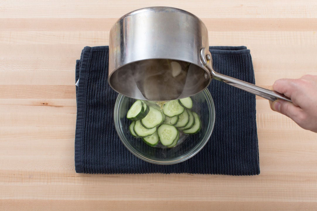 Make the pickles:
