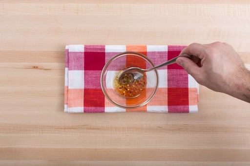 Make the chile honey: