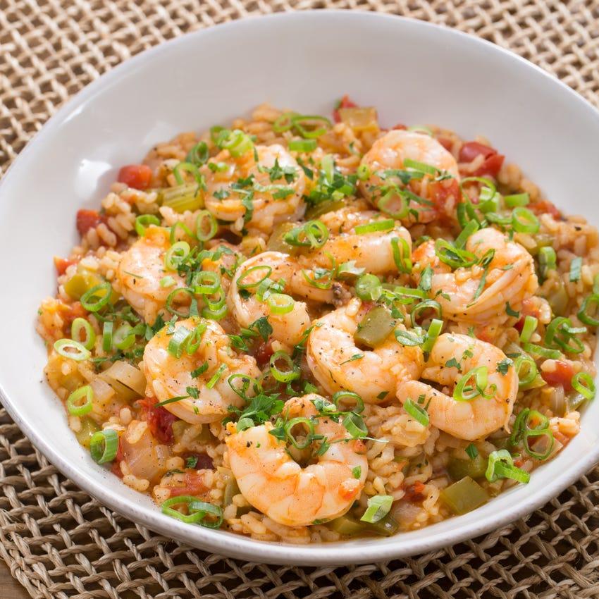 One-Pot Shrimp Perloo N/A
