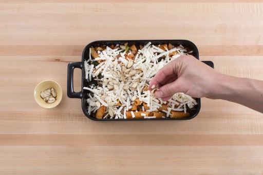 Bake the pasta: