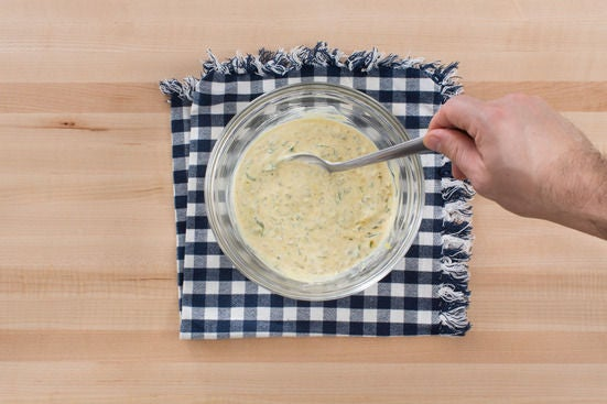 Make the remoulade: