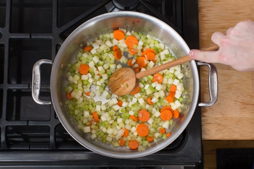 Start the soup: