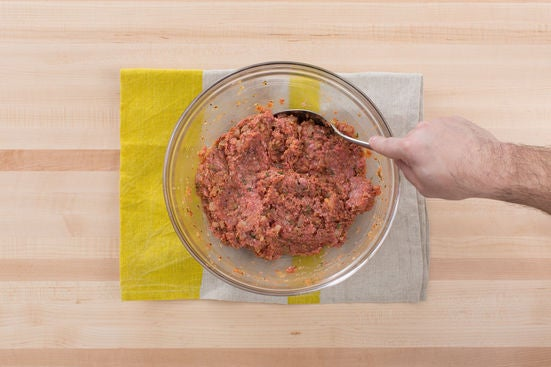 Start the meatloaf: