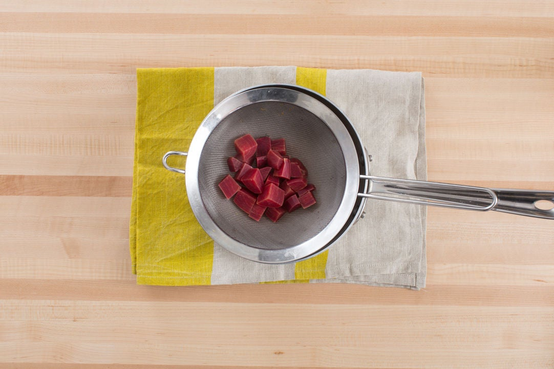Cook the beet: