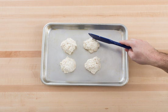 Make the biscuits: