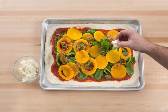 Make the pizza & serve your dish: